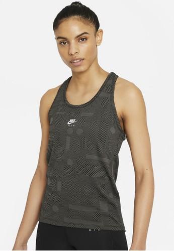 Nike black As W Nk Air Df Tank EA057AA2D1365CGS_1