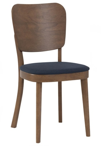 DoYoung brown SENEN (Set-of-2 Walnut) Side Chair 9ED74HL35040BAGS_1