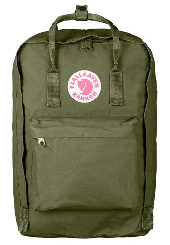 "Fjallraven Kanken green Green Kanken 17"" Backpack 4C669ACB2259B6GS_1"