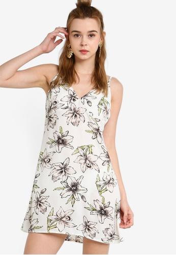 ff40cfaaa38 Something Borrowed white Strappy Cami Slip Dress 94685AAE07144BGS_1