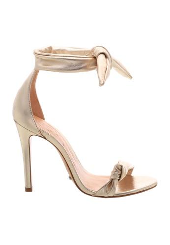 SCHUTZ gold SCHUTZ Strap Sandal - EVELYN (PLATINA) 2C538SHD9123E5GS_1