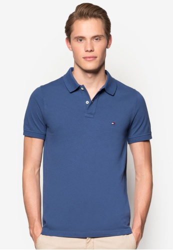Tommy Hilfiger blue SLIM FIT POLO S/S SF TO861AA41JOSMY_1