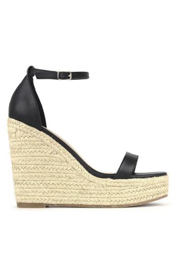 Betts black Sage Wedge Sandals 3585BSH37DFE68GS_1