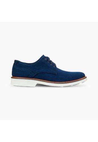 Dockers blue Dockers Prescott Oxford Shoes With Smart 360 Flex Men 74727-0001 E7C75SH2CF2CDBGS_1