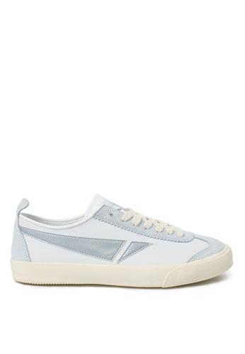 TOUCH GROUND white and silver Vintage badminton WHITE SILVER  TO294SH0GTUJSG_1