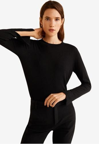 Mango black Fine-Knit Sweater 2EE8BAA0ABACE9GS_1