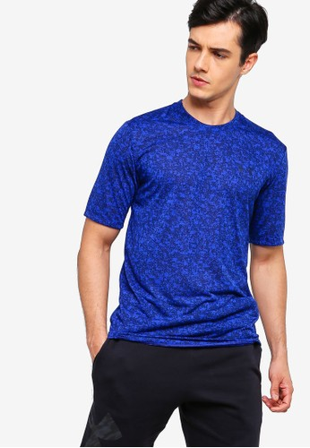 Under Armour blue UA Siro Print Short Sleeve Tee BA392AA90A8DCCGS_1