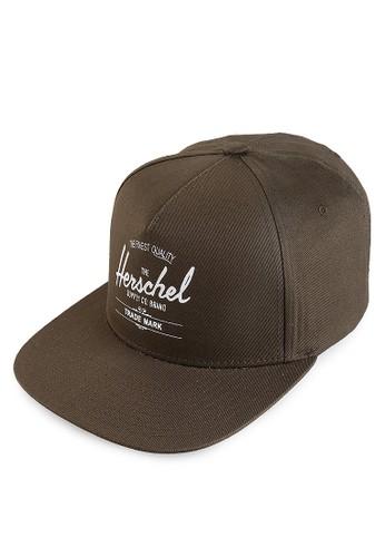 Herschel multi and brown Whaler Cap HE449AC18LSZID_1