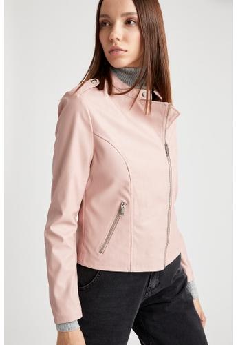 DeFacto pink Woman Outer Wear Mont B50CFAA6FCCA9DGS_1