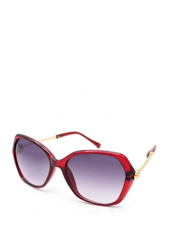 Peculiar and Odd red Premium Oversized 4225 Sunglasses Gradient Lens C095FGL6EE7616GS_1