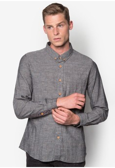 Long Sleeves Shirt with Printed Tabs