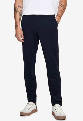 Only & Sons navy Mark Chino Pants E3EB0AA564209DGS_1