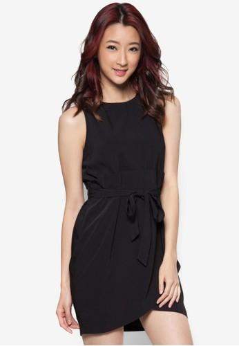 裹式繫帶連身裙, 服飾zalora 包包評價, 洋裝
