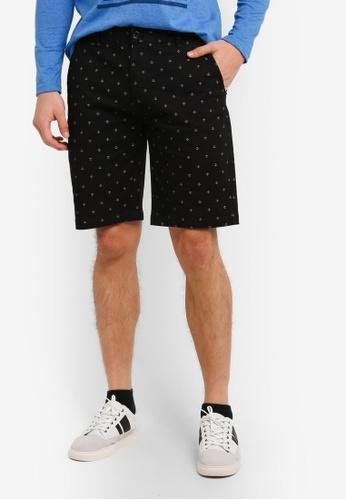 Marc & Giselle 黑色 Bermuda 短褲 MA188AA0S15RMY_1