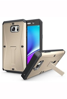 Heavy Duty Rugged Armor Holder Shockproof Case For Samsung Galaxy S6
