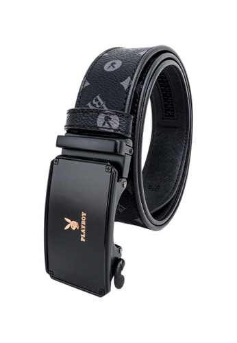Playboy black 35MM Automatic Belt E584FACA5840D4GS_1