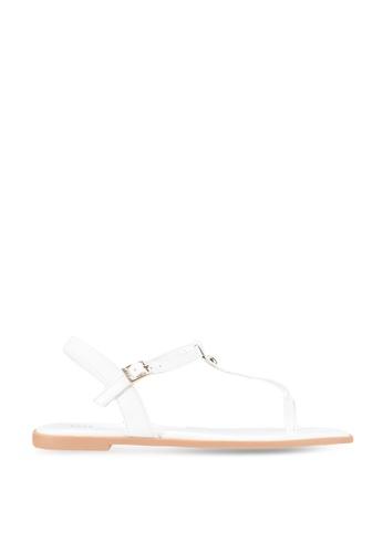 nose 白色 Flat Sandal 486C5SHC8FAE9FGS_1