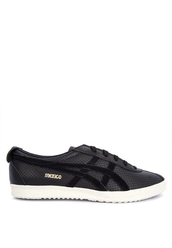 Onitsuka Tiger black Mexico Delegation Sneakers 2A1E7SH2D15225GS_1