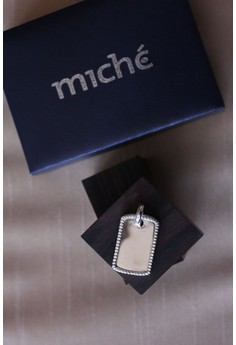 Miche Coinedge Framed Dog Tag