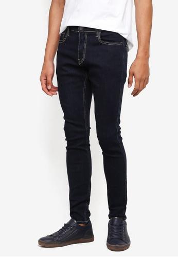 Hollister 藍色 窄管牛仔褲 3ED19AA937E7BAGS_1