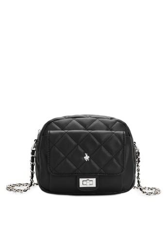 Swiss Polo black Casual Crossbody Bag E09FCAC636FBF7GS_1