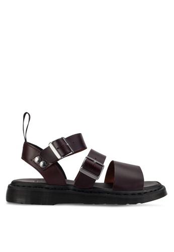 Dr. Martens brown Gryphon Core Re-Invented Sandals DR086SH44RTBMY_1