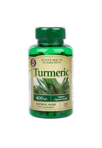 Holland & Barrett Nature's Garden Turmeric 400mg containing Curcumin 100 Capsules E7F6BES96F2F04GS_1