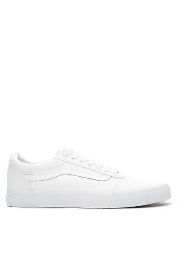 Vans white Ward Sneakers VA142SH0JQ0YPH_1