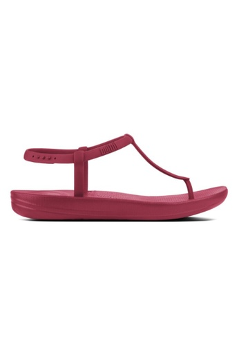 FitFlop red Fitflop Iqushion Splash - Iron Red 9E032SH8A3D2F8GS_1