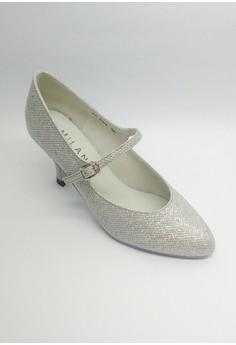 OD 504 Nimfa Ballroom Glitz Closed Shoes with Single strap.