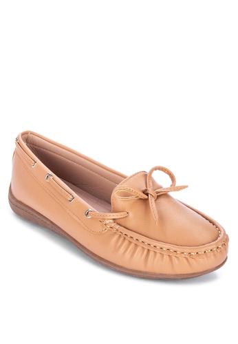 H2Ocean beige Veeann Loafers 243AESH9356A90GS_1