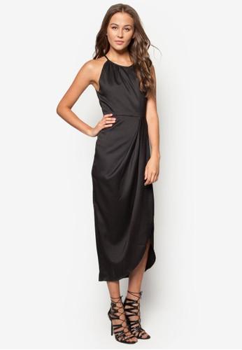 Melay 裹式無袖洋裝, 服zalora鞋子評價飾, 派對洋裝