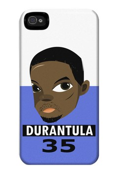 Durantula Matte Hard Case for iPhone 4, 4s