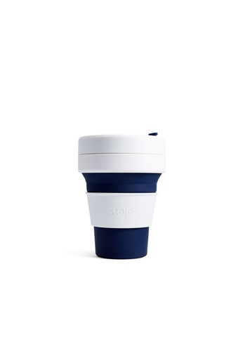 Stojo stojo pocket cup 12oz / 355ml, Indigo 210DDHL30F7AE1GS_1