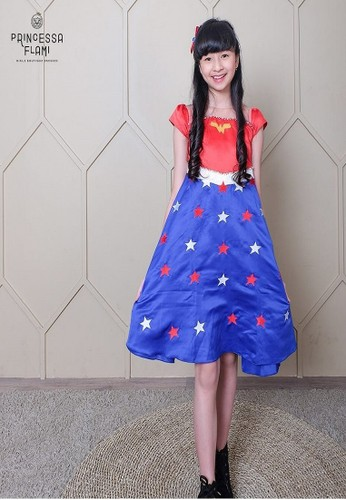 Princessa Flami multi Dress Character Wonder Woman 20AC8KA43445C5GS_1