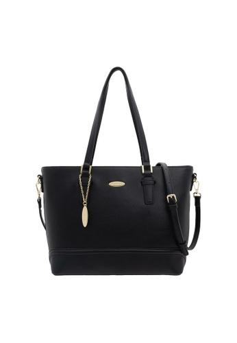 a0d0e3a8665 British Polo black British Polo Elegant Shoulder Bag DAD41AC5754F3EGS_1