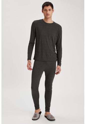 DeFacto grey Man Underwear Knitted Bottom D6E45AAFB58211GS_1