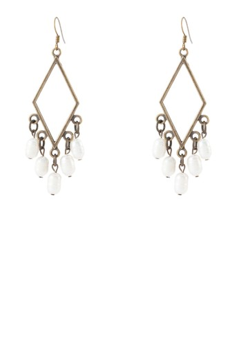 Selarat 幾何京站 esprit珍珠耳環, 飾品配件, 其他