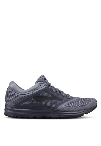 Brooks grey Revel Shoes 940F6SHA6248FFGS_1