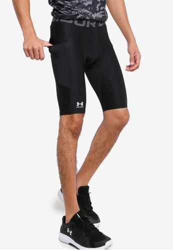Under Armour 黑色 Hg Armour Long Shorts 85B0CAA8D40374GS_1