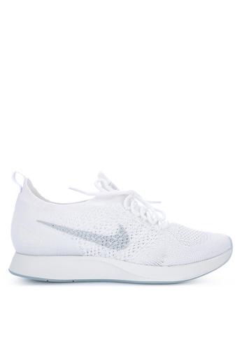 Nike white Women's Nike Air Zoom Mariah Flyknit Racer Shoes E613DSH6FCF8CAGS_1