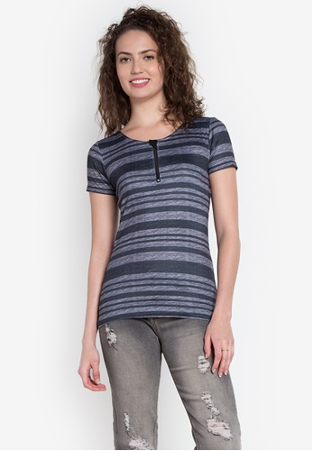 Freego multi Ladies Stripes Tee FR760AA0KCBOPH_1