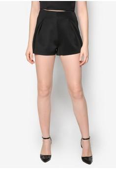 Architectural Fold Shorts