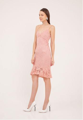 d23e2ea5 Buy The Scarlet Room Rachelle Lace Ruffle Dress Online on ZALORA Singapore
