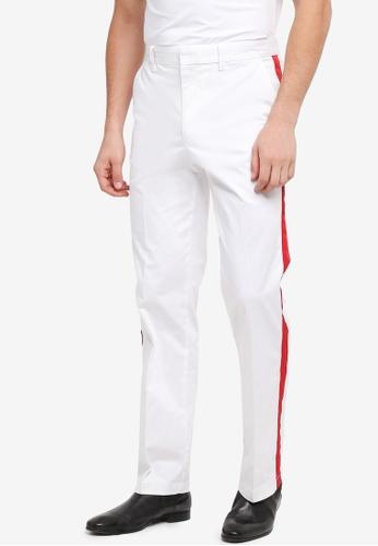 Calvin Klein white Galon Straight Chino Pants - Calvin Klein Jeans 2A79EAAA059B4EGS_1