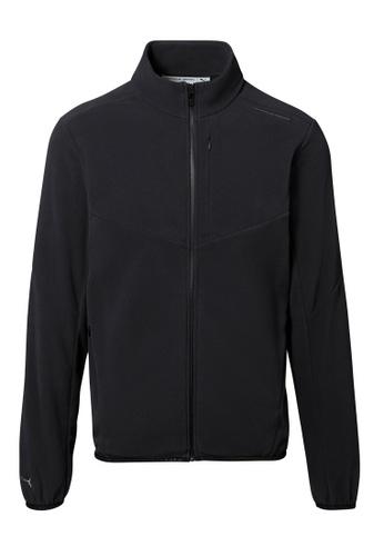Porsche Design black Porsche Design x PUMA Black Men's Fleece Jacket for Men 8B625AAFF0249CGS_1