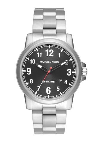 MICHAEL KORS silver Paxton Analog Watch MI248AC0K952PH_1