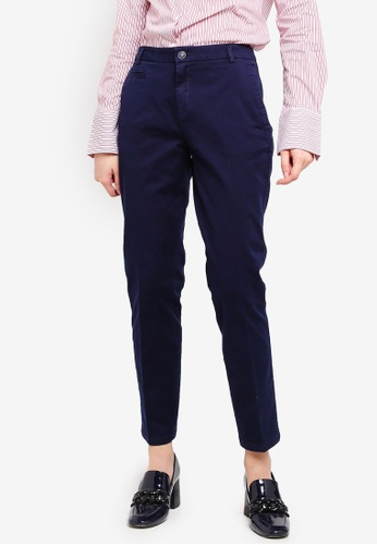 United Colors of Benetton blue Stretch Chino Pants. F9FD9AA2F5D93EGS_1