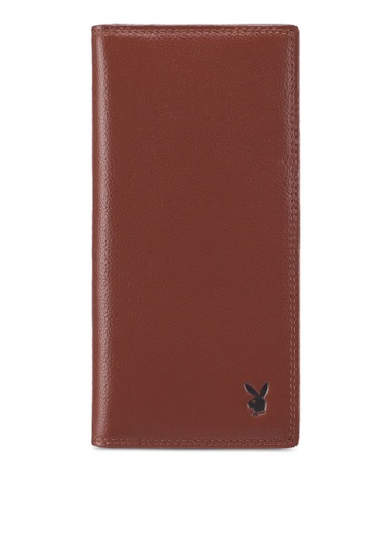 Buy Playboy Playboy Genuine Leather Long Wallet Online on ZALORA ... 4a1694ad56