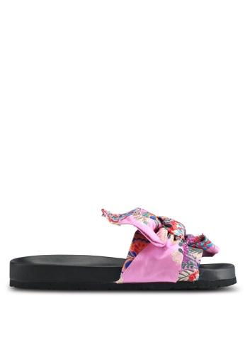 Public Desire pink Rio Dow Detail Sliders A89ECSH3DA3EB4GS_1